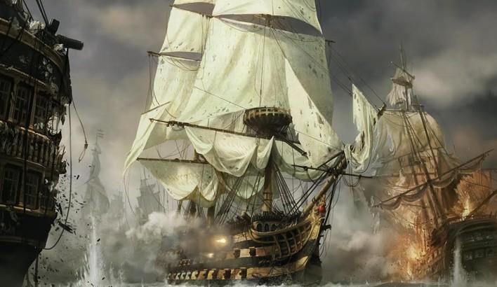 corsarios en la marina